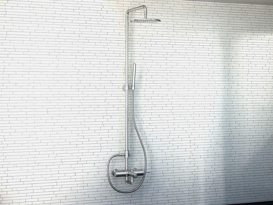 Kohlman zestaw wannowo-prysznicowy natynkowy QW277M Maxima