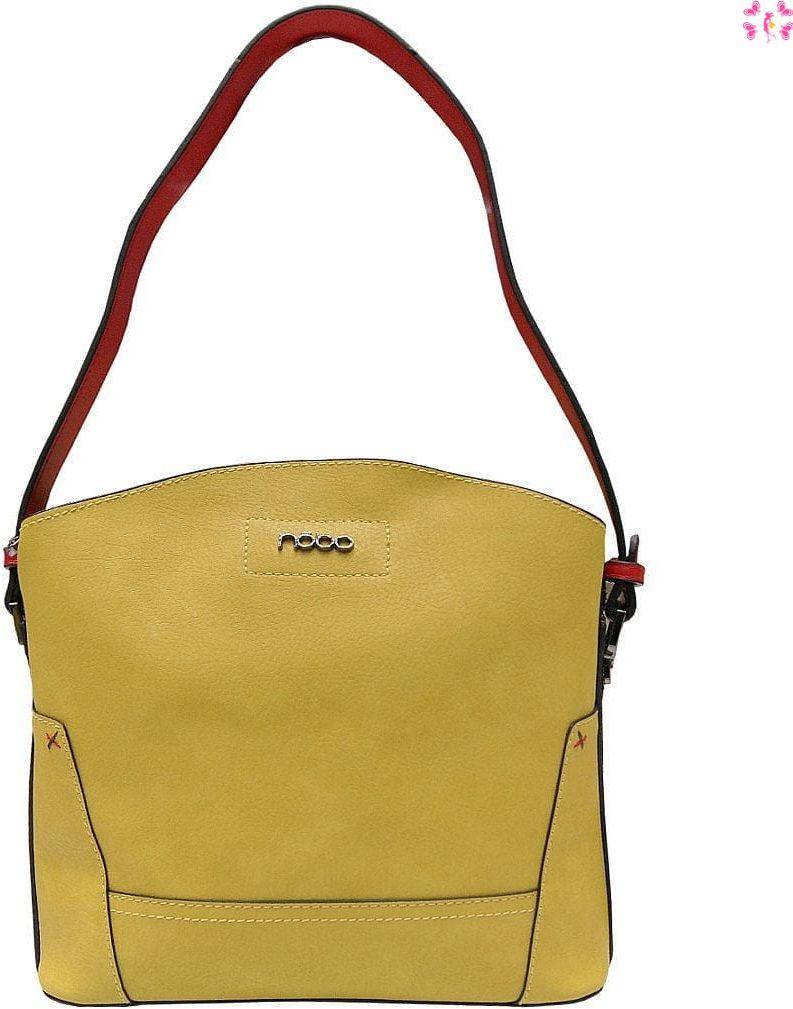 Torebka miejska Nobo E0950 kolor yellow