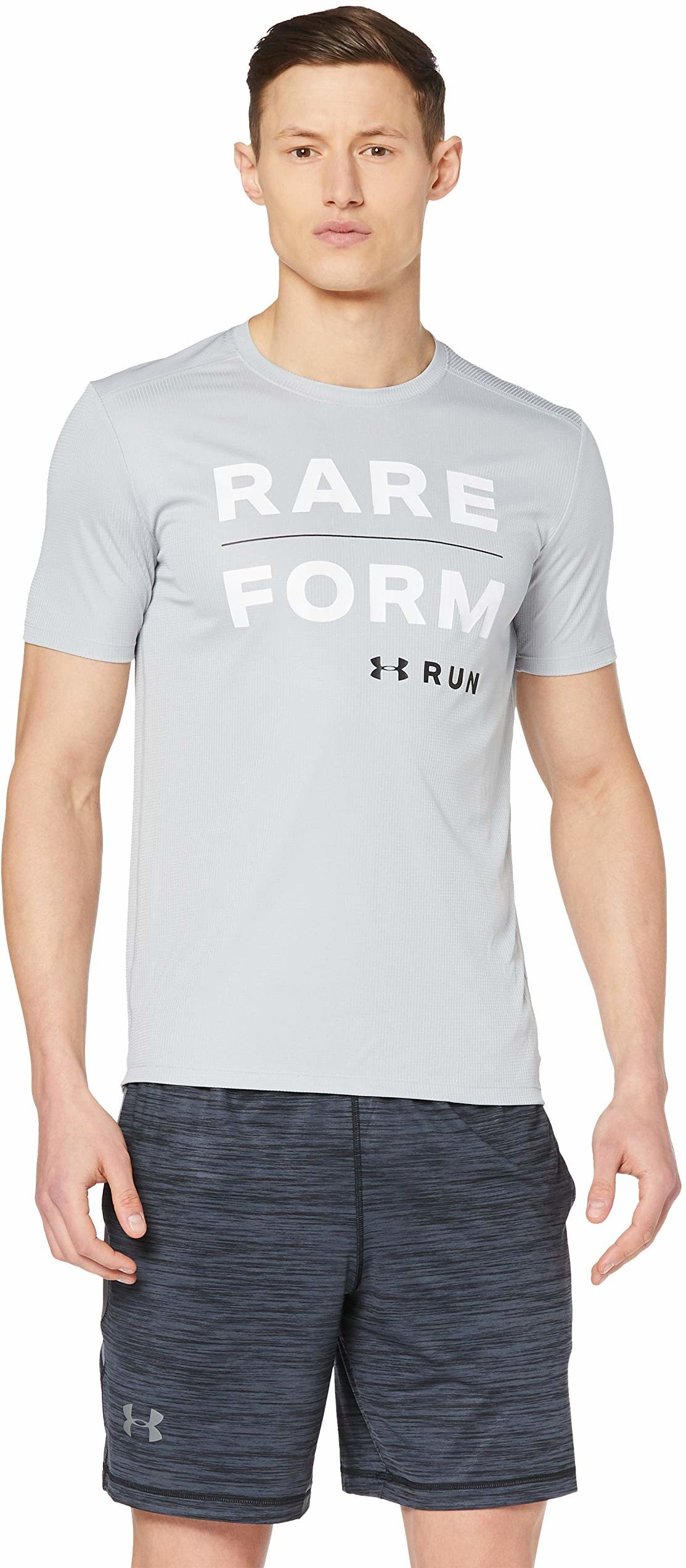 Under Armour koszulka męska Run Form Graphic Tee Tank Mod Grey/White/Pitch Grey M
