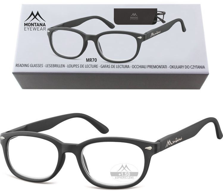 Okulary do Czytania asferyczne Montana BOX70 Moc: +1