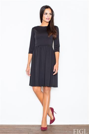 Sukienka Finezja M117 czarna