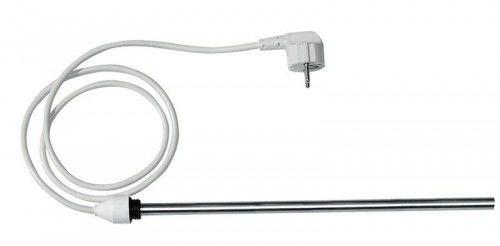 Grzałka elektryczna bez termostatu, prosty kabel, 500 W