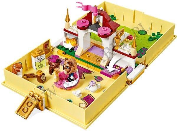 LEGO Disney Princess - Książka z przygodami Belli 43177