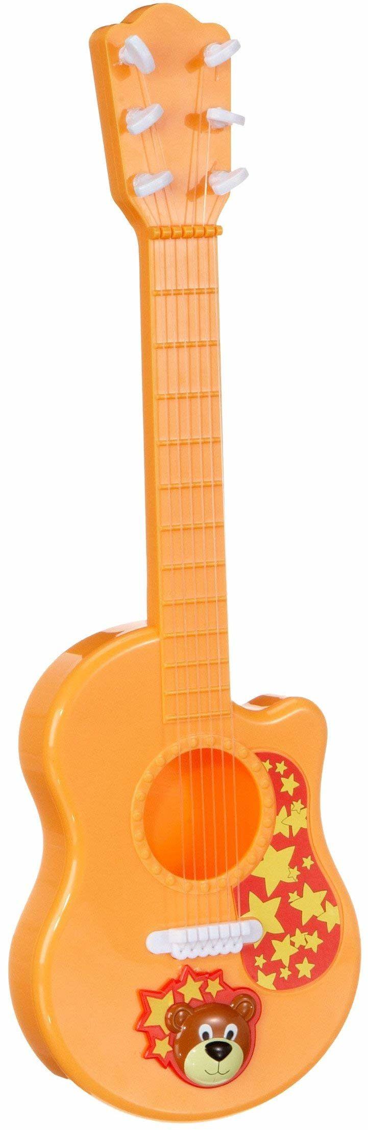 Simba 106838853 - My music World, instrument muzyczny, gitara z motywem niedźwiedzia, 41 cm