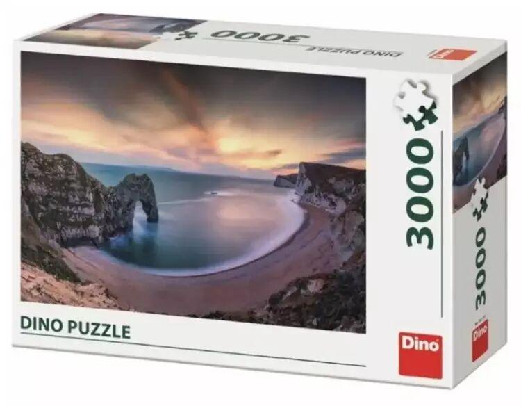 Puzzle 3000 Wielka Brytania, Zachód słońca - Dino Toys
