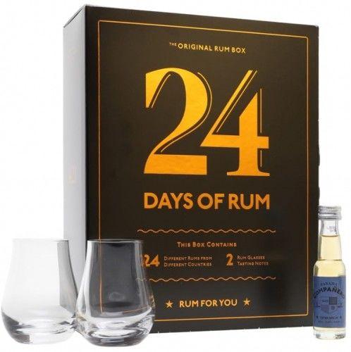 Rum kalendarz adwentowy 24 Days of Rum 41,7% 0,46l