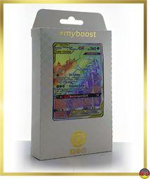 Shabelle & Masskito-GX 215/214 tajny tęcza  #myboost X słońce i księżyc 10 mocy w harmonii  pudełko z 10 niemieckimi kartami Pokémon