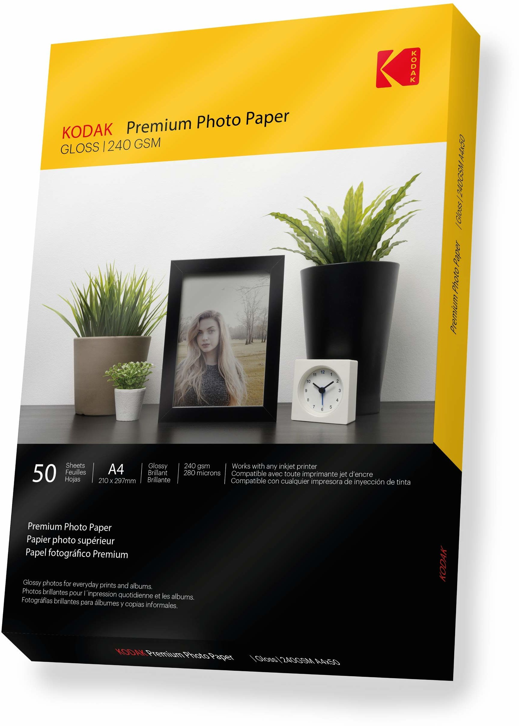 Kodak A4 240 g/m2 zdjęcie premium