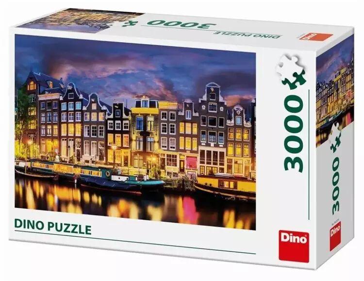 Puzzle 3000 Holandia, Amsterdam - Dino Toys