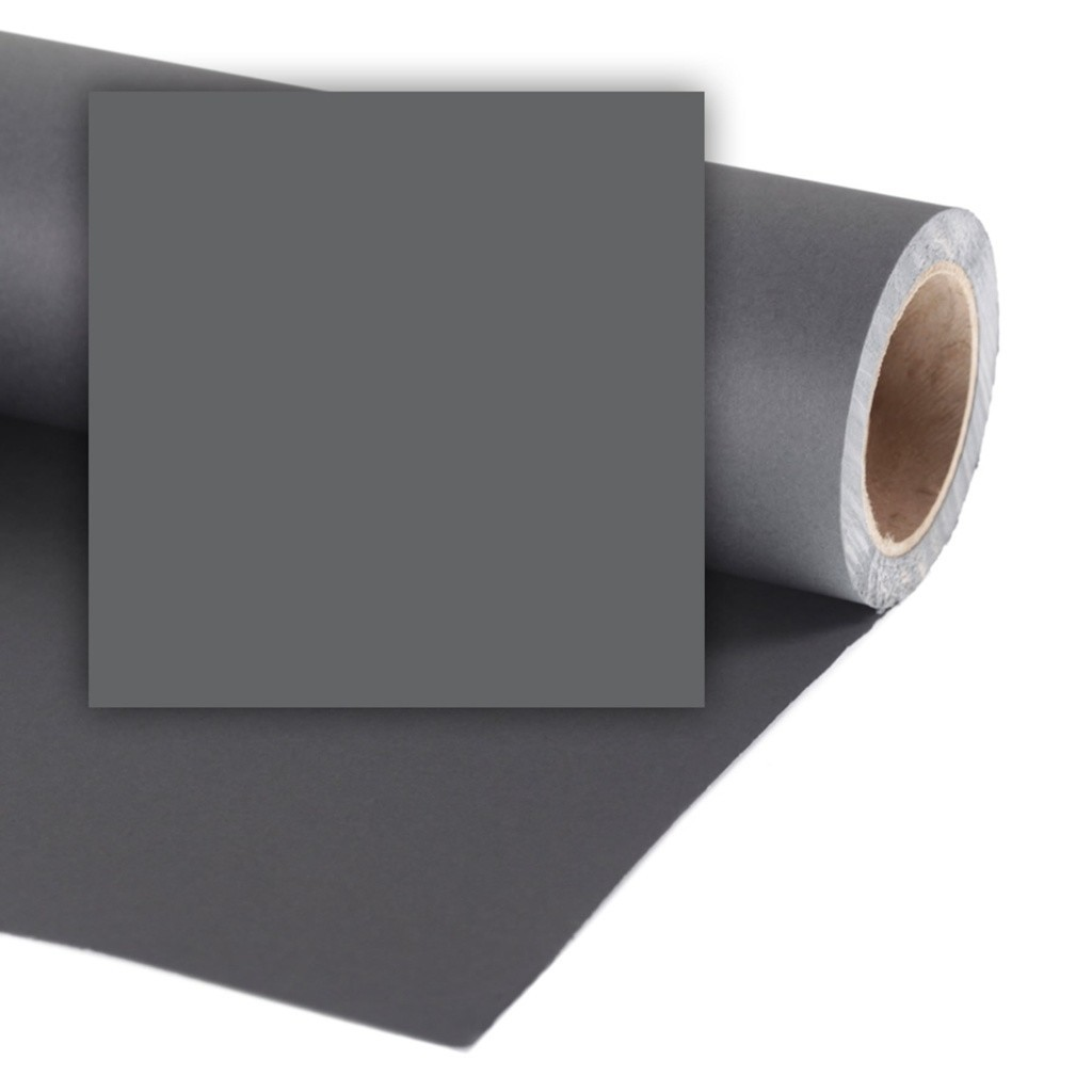 Colorama CO549 Charcoal - tło fotograficzne 1,35m x 11m