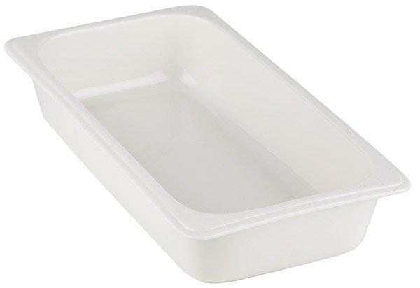 Pojemnik prostokątny z porcelany biały różne wymiary