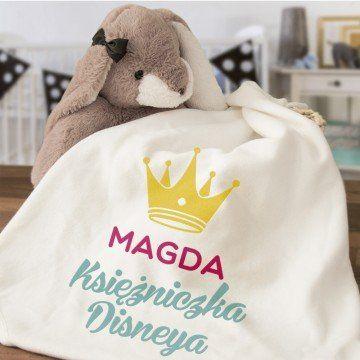 Księżniczka disneya - Ręcznik niemowlęcy