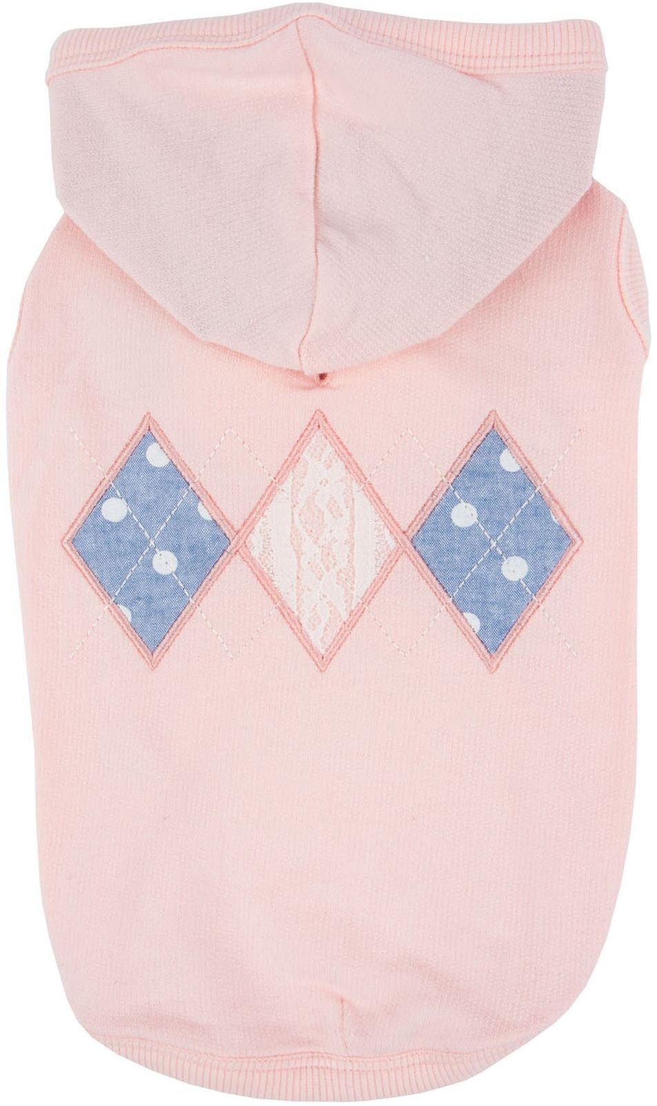 Pinkaholic New York NARA-TS7309-IP-XL indyjskie różowe łapacze bluzy z kapturem dla zwierząt domowych, XL