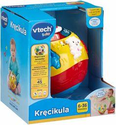 Trefl VTech Kręcikula Interaktywna Zabawka Elektroniczna dla Dzieci od 6 miesięcy