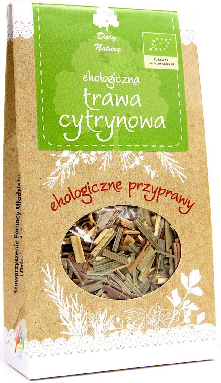 Trawa cytrynowa bio 20 g - dary natury