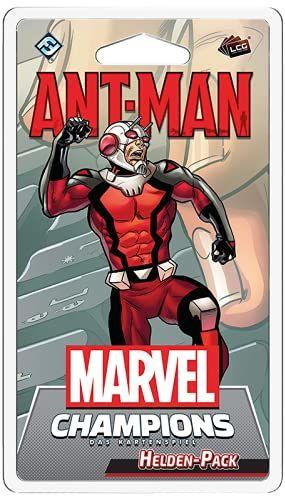 Asmodee Marvel Champions: gra karciana  Ant-Man, rozszerzenie bohaterów, budowa krycia, niemiecki