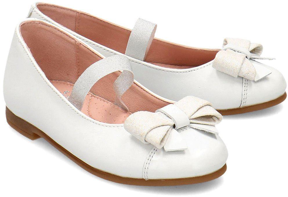 Garvalin - Baleriny Dziecięce - 202602 B-BLANCO - Biały