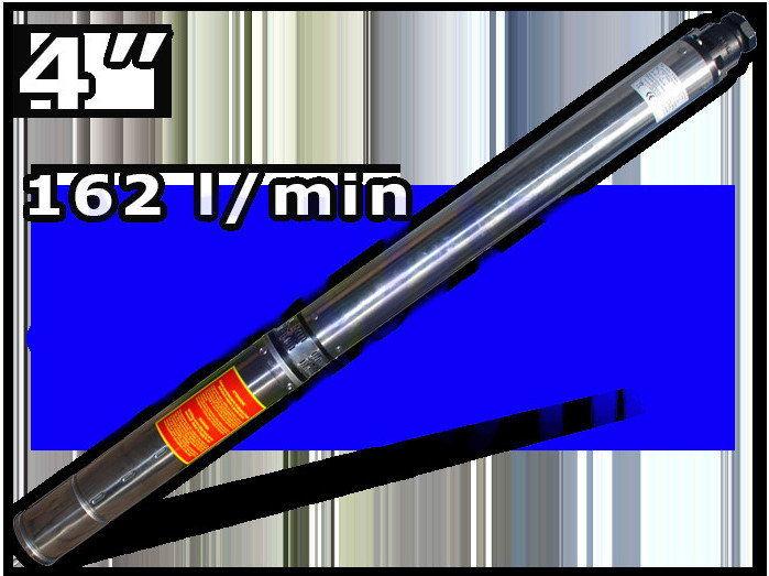 """IBO 4 SDm 6-10 pompa głębinowa 4"""" - 230 V , 1,5 kW o podwyższonej odporności na piasek z 20 metrowym kablem + przesyłka 0 zł"""