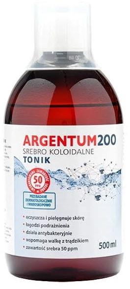 Argentum Srebro Koloidalne Tonik 50ppm 500ml - Aura Herbals