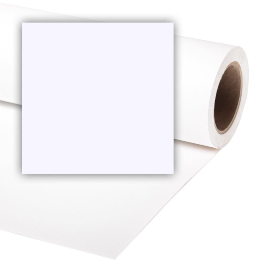 Colorama CO565 Arctic white - tło fotograficzne 1,35m x 11m