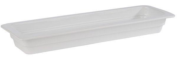 Pojemnik prostokątny z porcelany biały różne rozmiary