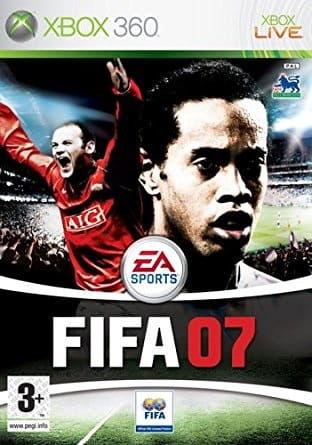 Fifa 07 Xbox 360 Używana