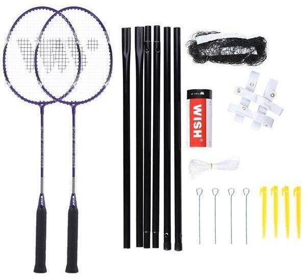 Zestaw rakietek do badmintona Alumtec 4466 Wish fioletowy