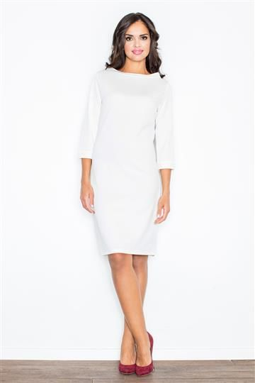 Sukienka Kordelia M181 ecru