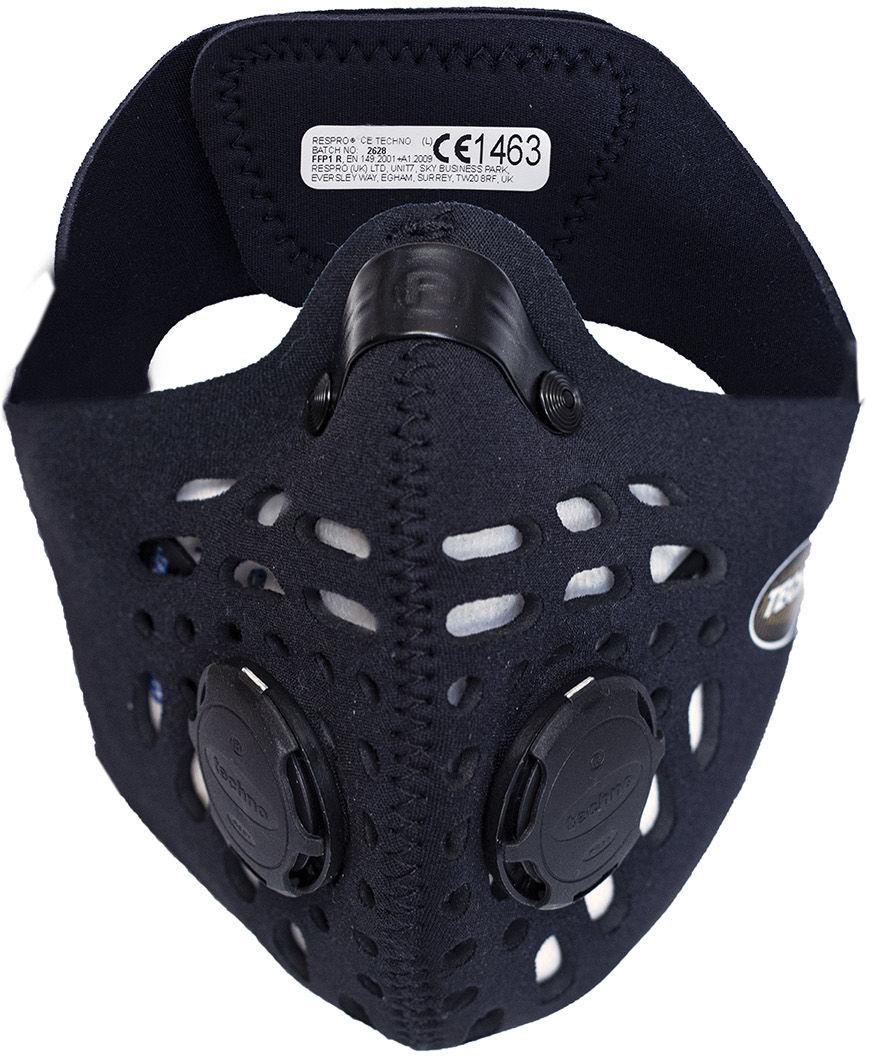 Maska antysmogowa Respro CE Techno Black (RCET19-BK)