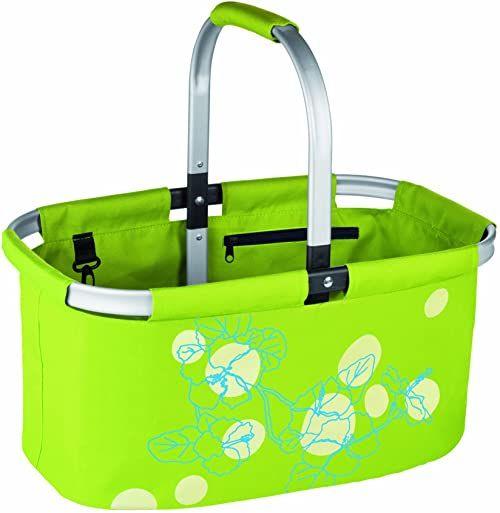 Tescoma Składany koszyk na zakupy, zielony