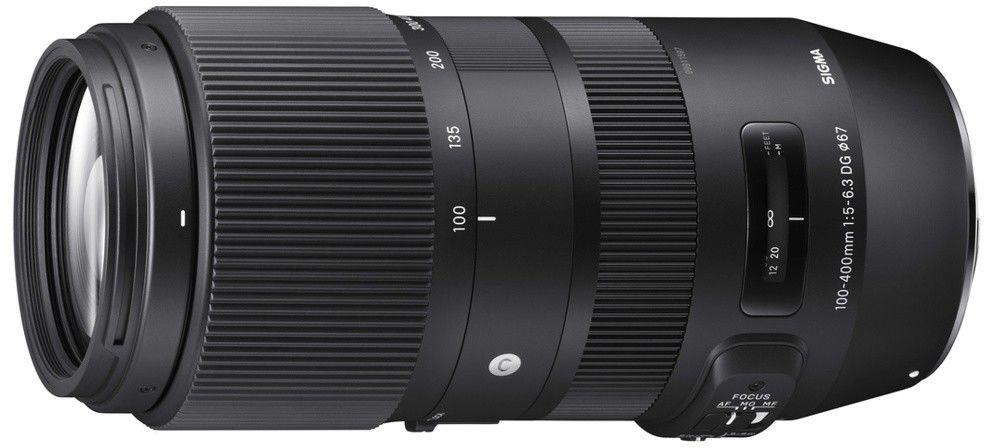 Obiektyw Sigma Contemporary 100-400mm f/5-6.3 DG OS HSM Canon + konwerter MC-11