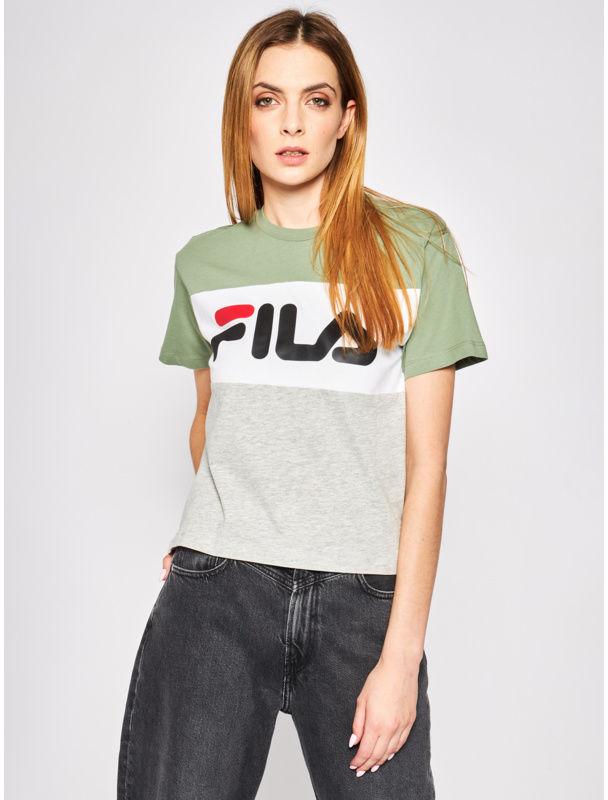 Fila T-Shirt Allison 682125 Kolorowy Regular Fit