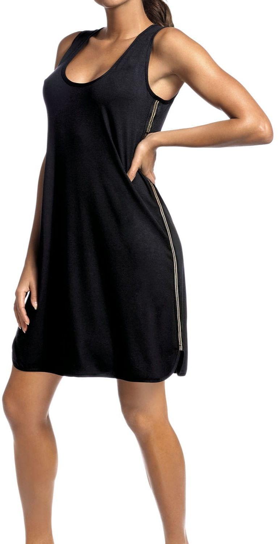 Sukienka damska Hamana Argo czarna