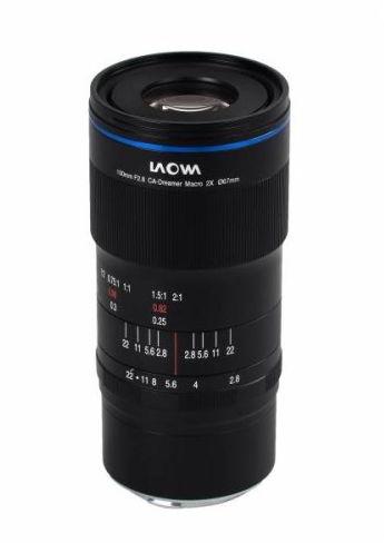 Laowa CA-Dreamer 100 mm f/2.8 Macro 2:1 - obiektyw stałoogniskowy do Nikon Z Laowa CA-Dreamer 100 mm f/2.8 Macro 2:1
