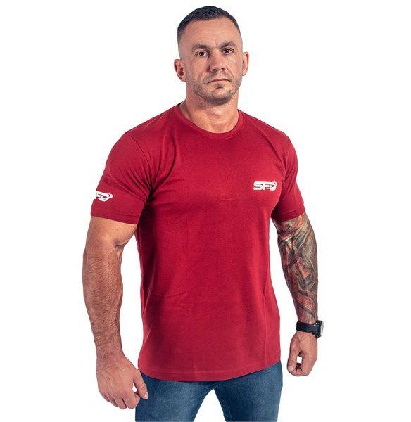 T-Shirt Athletic Bordowy 1szt
