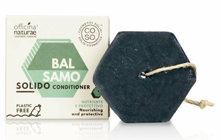 CO.SO Solid Conditioner Nourishing Odżywka w kostce do każdego rodzaju włosów 64g
