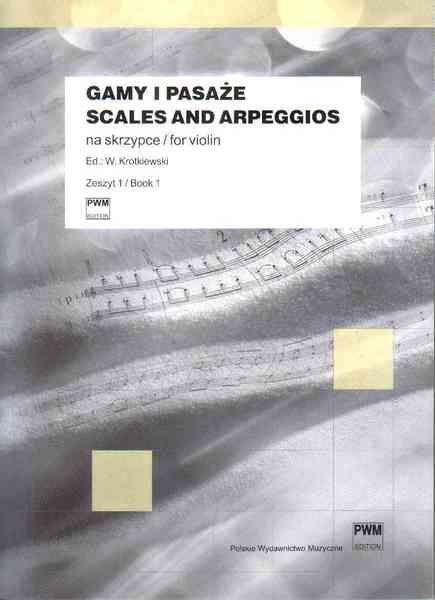 PWM Krotkiewski Witold - Gamy i pasaże na skrzypce, z. 1 - I pozycja