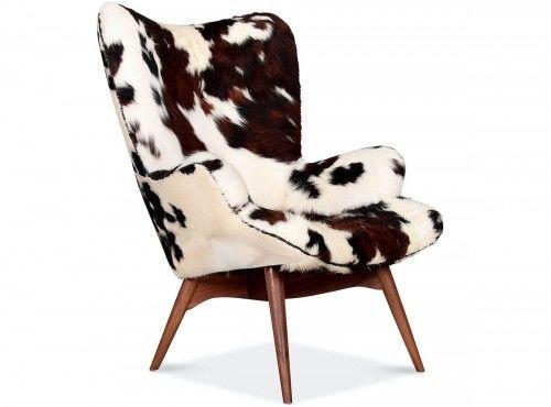 Fotel inspirowany proj. Grant Featherston - skóra pony