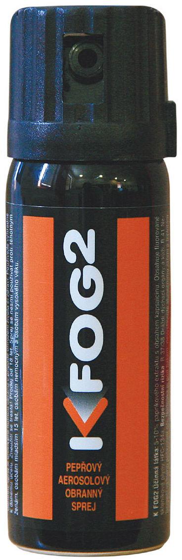 Gaz pieprzowy MS K Fog 2 50 ml - stożek