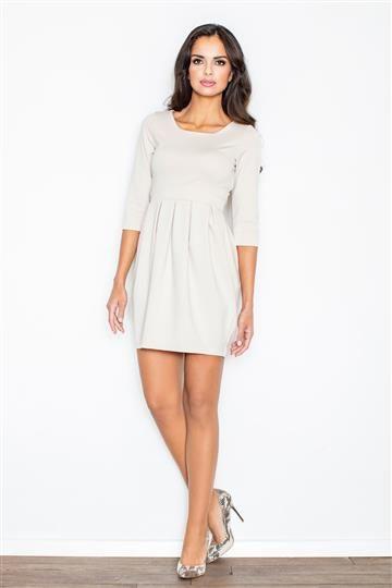 Sukienka Melania M122 bezowa