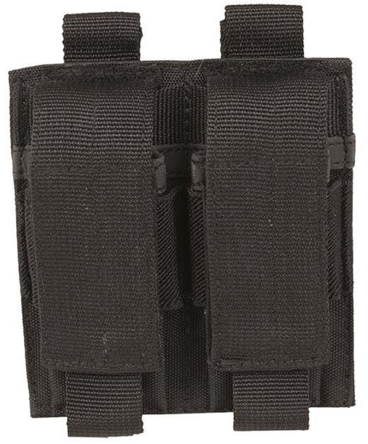 Ładownica Mil-Tec na 2 magazynki pistoletowe - czarna (13495502)