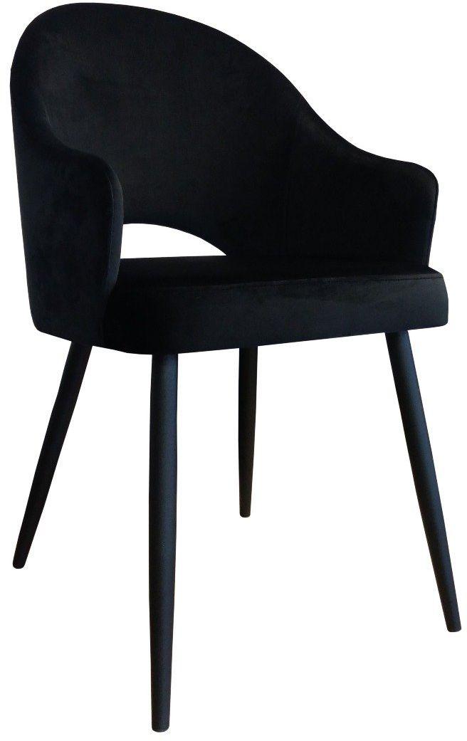 Krzesło JENISEJ VELVET czarne