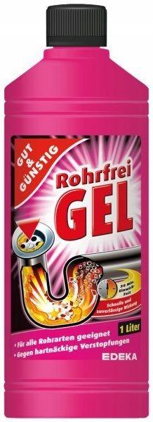 G&G żel do udrażniania rur 1l