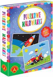 Z.P. Alexander 2465 Piaskowe Malowanki-Auto/Rakieta