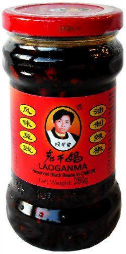 Czarna fasola w oleju chili 280g - Lao Gan Ma