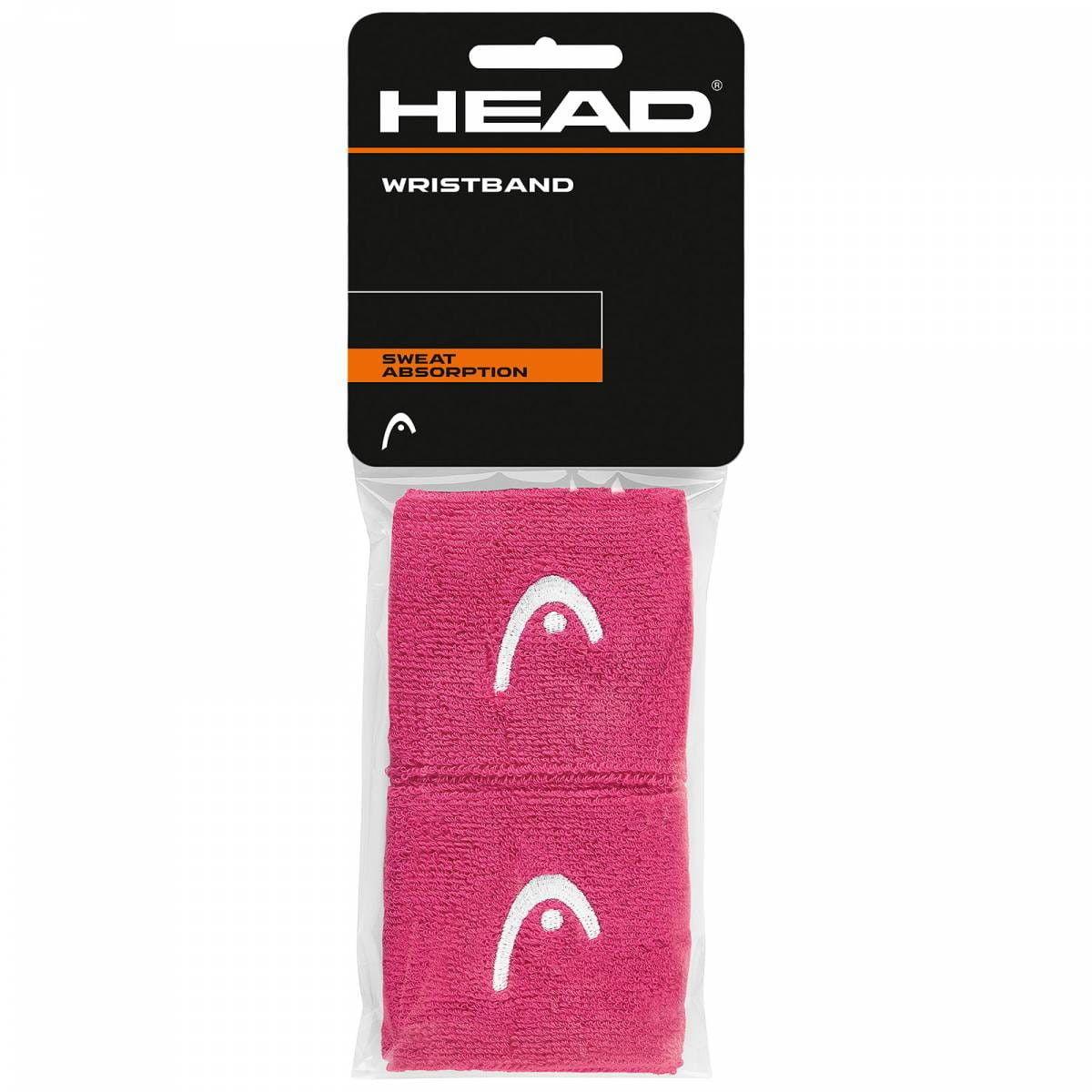 Head Frotki na nadgarstki 2,5 - pink