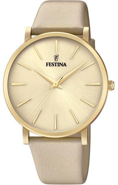 Zegarek Festina F20372-2 Boyfriend - CENA DO NEGOCJACJI - DOSTAWA DHL GRATIS, KUPUJ BEZ RYZYKA - 100 dni na zwrot, możliwość wygrawerowania dowolnego tekstu.