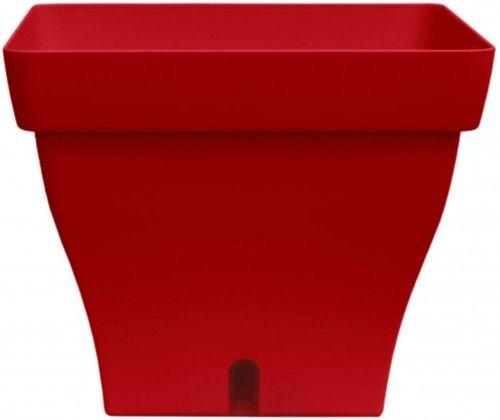 Doniczka samonawadniająca 12,8l Czerwona, 32x32cm, Papyrus