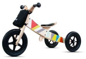 Milly Mally Grande rowerek trójkołowy 2w1 pink