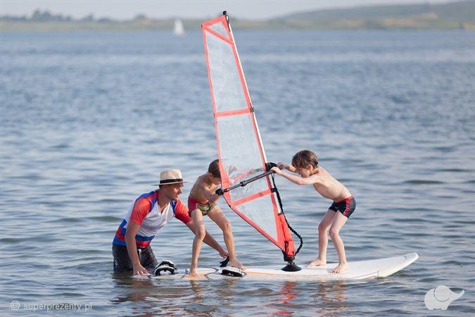 """Kurs Windsurfingu """"Bąbel"""" dla dzieci w Jastarni"""